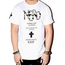 【HYDRA】馬來西亞 Nerd Unit CREATE LIKE A GOD TEE 迷彩 耶穌 十字架 白 S / M / L