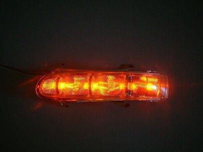 ~~ADT.車燈.車材~~賓士 W203 W220 LED後視鏡透明方向燈一組1200