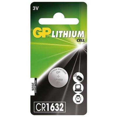 GP超霸鈕扣鋰電池CR1632 (日本)