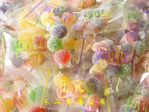 【不二家海盜屋】*超取滿799元免運費-台灣--哈妮QQ軟糖小單包--500g130元--香Q滋味.繽紛水果糖果