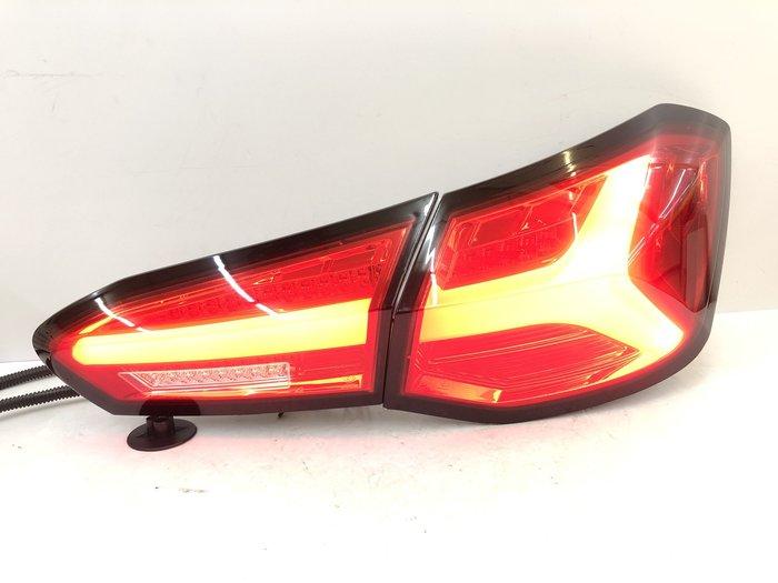 車燈 FOCUS MK4 LED 導光 尾燈 後燈 福克斯 跑馬 流光 方向燈 19 20 21 年 紅殼 改裝