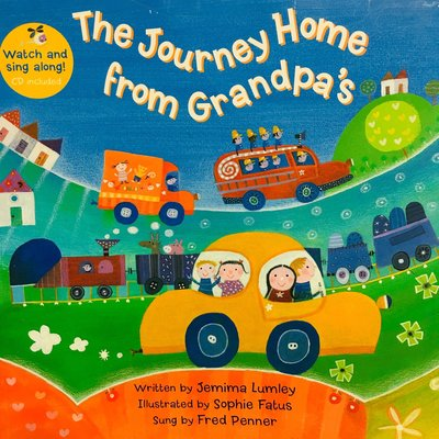 The Journey Home from Grandpa's(書+VCD)