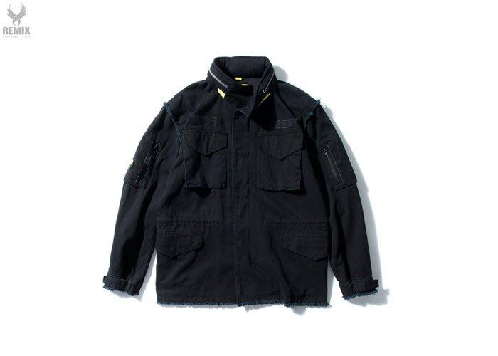[ LAB Taipei ]  街頭品牌 REMIX '16 A/W R.A.W M65 JACKET [ 黑 ]