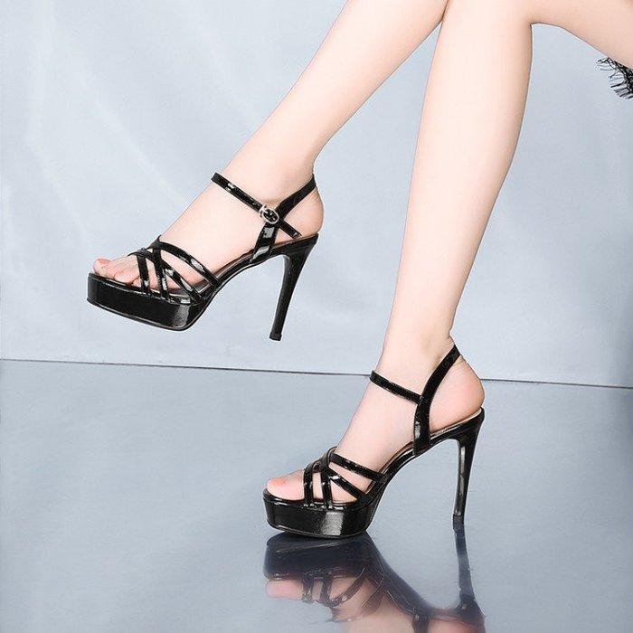 真皮女鞋 涼鞋 高跟鞋 HKA 030