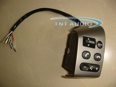 §影音配件館§ livina/Tiida 專用 方向盤音響快撥鍵  黑色 銀色 可選