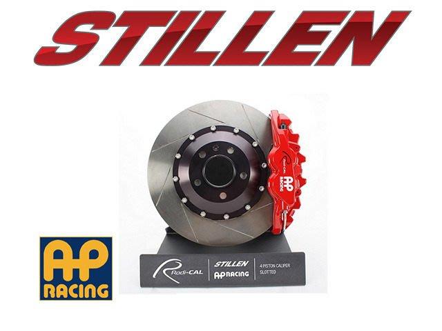 美國 STILLEN AP Racing 前 四活塞 卡鉗 劃線 VW Golf GTI VII 14+ 專用