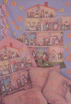 樂歪歪鋪子《PLAY HOUSE》房間掛毯 拍照背景布\/Rudefish獨立原創設計