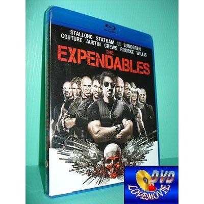A區Blu-ray藍光台灣正版【浴血任務1 The Expendables (2010)】[含中文字幕]全新未拆