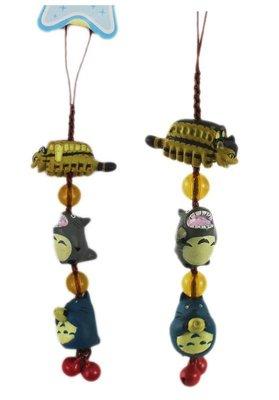 【卡漫迷】 Totoro 吊飾 迷你公仔 出清價 99 ㊣版 手機 包包 掛飾 龍貓 龍貓公車 裝飾品 玩具 鈴鐺