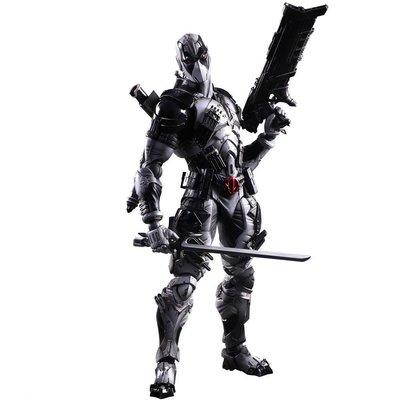 純日版 PLAY ARTS改 死侍 惡棍英雄 漫威X-Force版 可動完成品 日本原裝進口