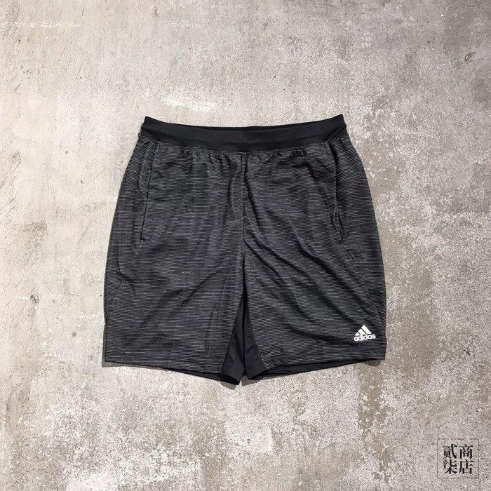 (貳柒商店) adidas 4KRFT Sport Shorts 男款 黑灰 短褲 運動褲 慢跑 訓練 DQ2863