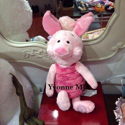 *Yvonne MJA* 美國迪士尼 Disney 樂園限定正品 維尼貼心好友 小豬(Piglet)娃娃