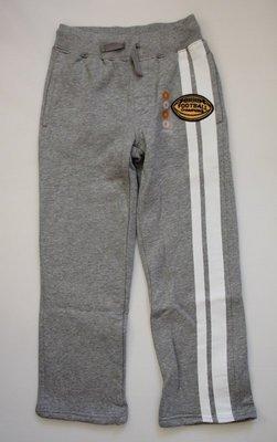 *美國童裝* GYMBOREE 灰色厚棉內刷毛運動褲、size: 6【全新現貨】