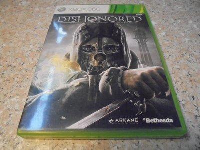 XBOX360 冤罪殺機 Dishonored 英文版 直購價400元 桃園《蝦米小鋪》