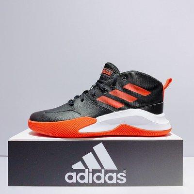 adidas OWNTHEGAME K WIDE 女生 黑紅色 緩震 高筒 籃球鞋 EF0309 台北市