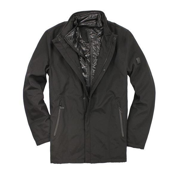 美國百分百【全新真品】TUMI 外套 連帽外套 夾克 黑 T-tech 防風 防水 透氣 保暖 男 M L號 C061