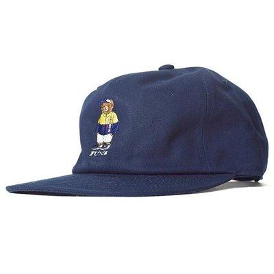 { POISON } INTERBREED SPORTS BEAR BALL CAP 日本頂級刺繡小熊棒球帽老帽 深藍