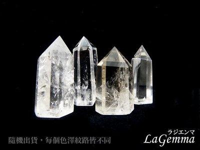 ☆寶峻水晶☆天然白水晶柱 水晶之王綜合能量~避邪擋煞~冥想占卜風水 30-40g 隨機出貨