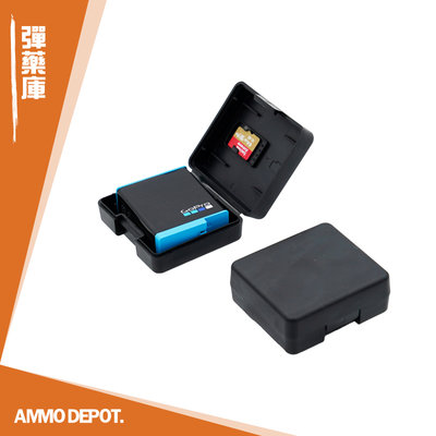 【AMMO彈藥庫】 Gopro Hero9 Insta360 配件 運動相機 電池盒 收納盒 一入 DFA-X011