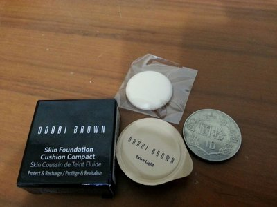 BOBBI BRWN芭比波朗 自然輕透膠囊氣墊粉底SPF50+++Extra Light  1.9g有效期限201810