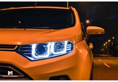 合豐源 車燈 EcoSport 大燈 頭燈 LED 導光 魚眼 日行燈 HID 14 15 16 17 翼博 福特 U型