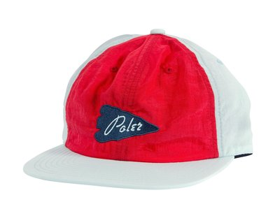 【GIANT MALL】免運 POLER COASTAL FLOPPY SNAPBACK 電繡棒球帽 老帽 白紅