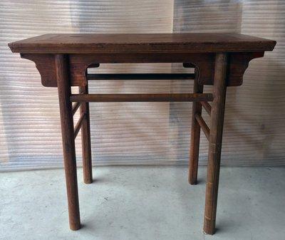 【一(藝)窩】清代圓腿小酒桌~榆木