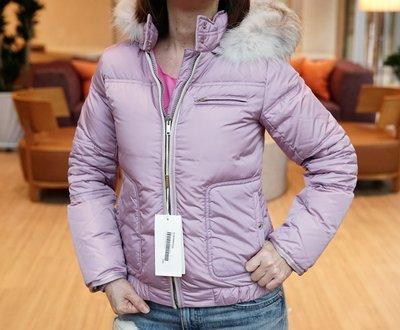 Gucci 681010 Fur Jacket 毛帽羽絨外套 粉紅