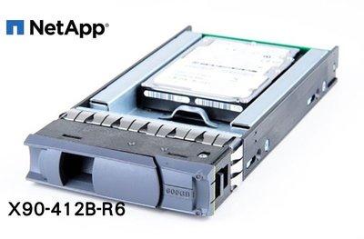 全新盒裝 NETAPP X90-412B-R6 600GB SAS 15K轉 2.5吋 DS4243伺服器硬碟