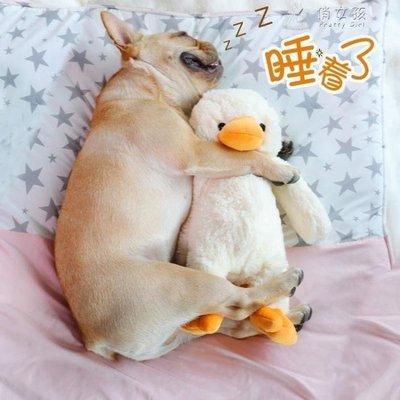 日和生活館 狗狗玩具磨牙耐咬毛絨發聲玩具泰迪貴賓柴犬訓練發泄陪睡寵物玩具S686
