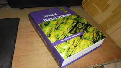古集二手書9M ~Testing of Digital Systems 0521773563 書況佳 2003