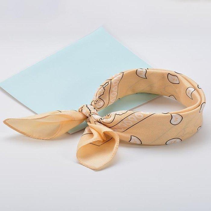 森女系發帶ulzzang頭飾復古小方巾