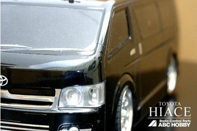 【DR.RC】日本原裝ABC HOBBY #66083 遙控車車殼 TOYOTA HIACE 現貨