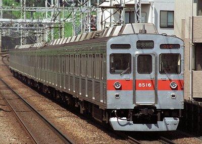 [玩具共和國] GM 31506 東急電鉄8500系(8615編成・黄色テープ付き)基本4両編成セット(動力付き)