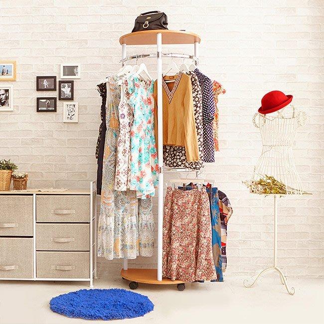 臥室 外宿【家具先生】便利型臥室玄關收納衣帽架CL015衣帽架吊衣架收納衣架
