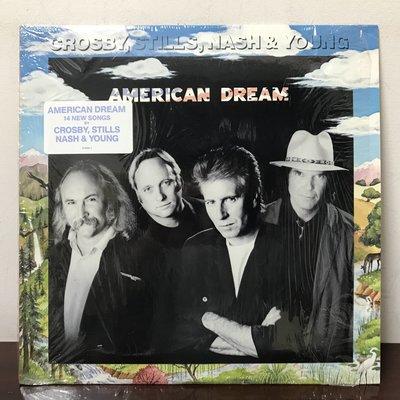 晨雨黑膠【西洋】美版/Crosby, Stills, Nash & Young – American Dream