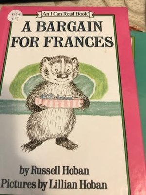 an I can read a bargain for frances russell hoban new627 精裝書