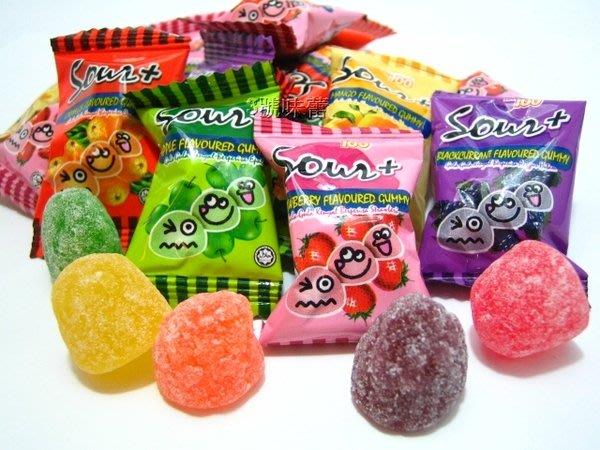 3號味蕾 量販網~馬來西亞100份QQ軟糖1000公克(綜合超酸)特價.....整人糖(一百份)  酸Q