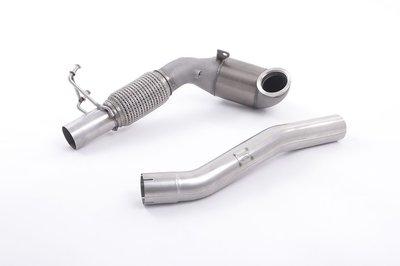 英國 Milltek 牛奶管 當派 競速 觸媒 排氣管 Skoda Octavia 5E 2.0 TSI 220PS 245PS 13+ 專用