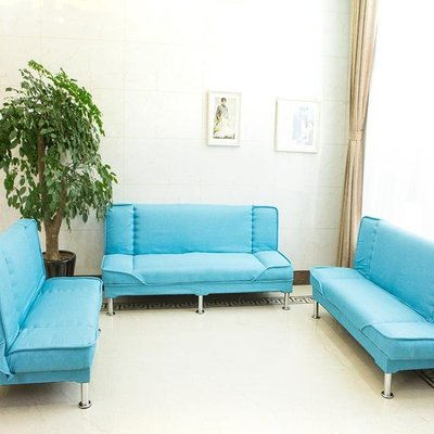 沙發沙發床小戶型兩用雙人三人簡易客廳租房用懶人經濟型折疊臥室沙發榮耀 新品