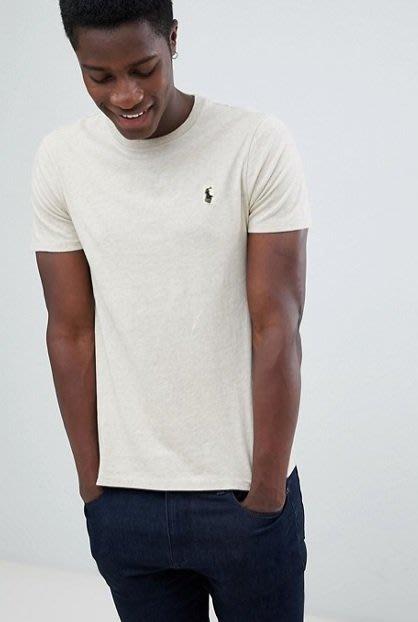 POLO Ralph Lauren 短袖T恤 短袖 青年款 小馬 沙色