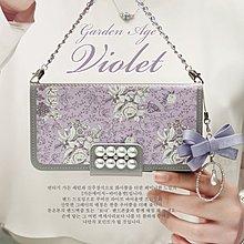 S182韓國珍珠花皮套 三星 Galaxy J7+ J7 plus J3 Pro手機套手機殼保護殼保護套軟殼
