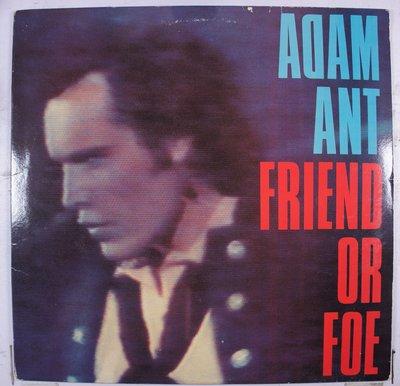 《二手美版黑膠》Adam Ant – Friend Or Foe 收錄英國榜冠軍 Goody Two Shoes