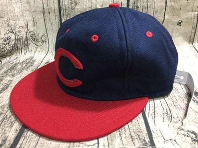 《Classic Hunter》全新美國製Ebbets Field Flannels【1953-手工復古棒球帽】可調尺寸