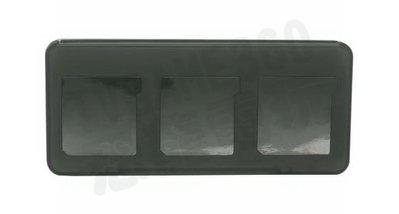 Nintendo 3DS N3DS N3DSXL N3DSLL 遊戲卡匣收納盒 6片裝卡夾收納盒 黑色【台中恐龍電玩】