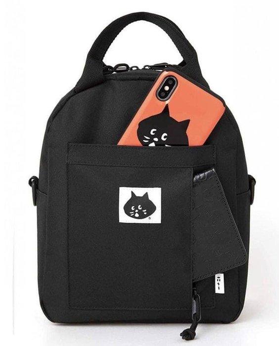 日本雜誌 ~ 超人氣ne-net 驚訝貓3way後背包 / 手提袋/斜背包(贈品未附雜誌)現貨