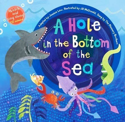 *小貝比的家*A Hole in the Bottom of the Sea Hybrid /平裝 書+VCD/3-6歲