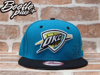 BEETLE PLUS 全新 NEW ERA SNAPBACK OKC 雷霆 THUNDER KEVIN DURANT 35 LOGO 藍黑 後扣棒球帽