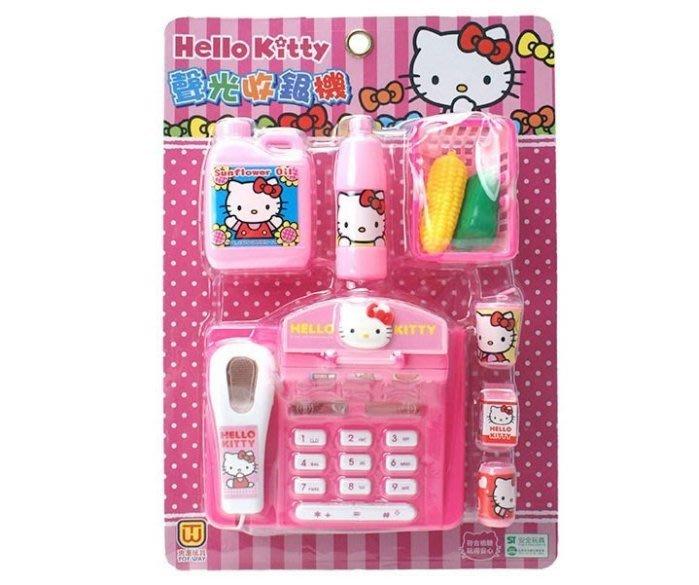 佳佳玩具 ----- 三麗鷗 正版授權 Kitty 卡裝 聲光 收銀機 扮家家酒 ST 安全玩具【0511378】