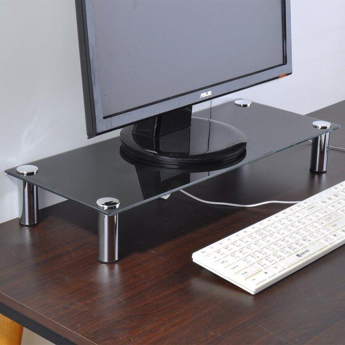 螢幕架 桌上架 收納 置物架【家具先生】防爆玻璃桌上架/螢幕架 /置物架 G-HD-SH005